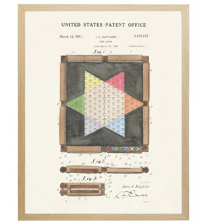 Chinese Checkers patent on light background