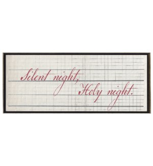 Silent Night, Holy night in Red