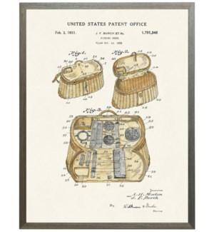 Fishing Creel Patent