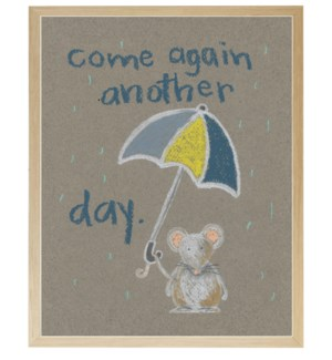 Come again another day mouse in pastels