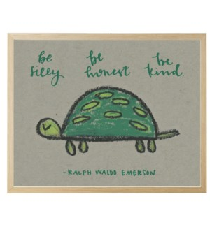 Be silly turtle in pastels