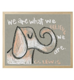 Elephant We are who we are in pastels