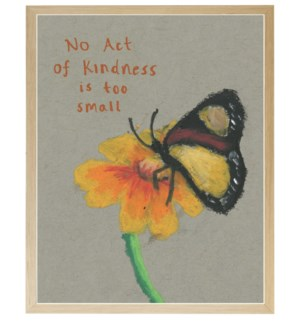 Kindness butterfly in pastels