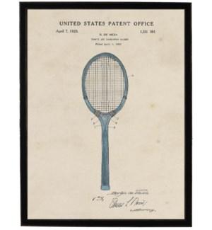 Watercolor Tennis Racket Patent