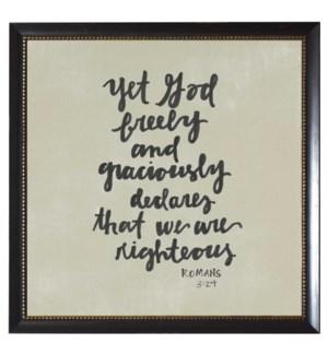 Romans 3:24