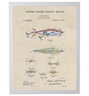 Watercolor Fishing Lure Patent