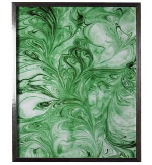 Green Marbled art