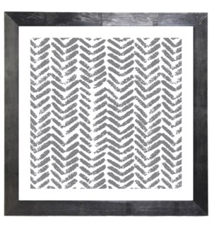 Grey Herringbone drawing