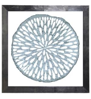 Grey/blue circle