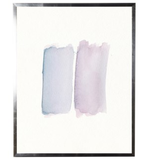 Light blue and light purple rectangles blobs