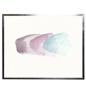 Light blue, light pink, and light brown blobs
