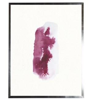 Dark pink vertical blob