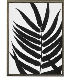 22X28 2400-05 ZH Black Cropped Leaves
