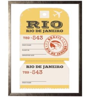 Rio de Janeiro Trvael Ticket