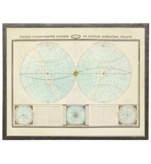 French Celestial Map