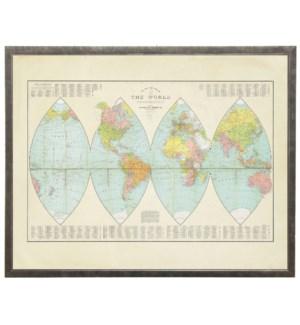 The Globe World Map