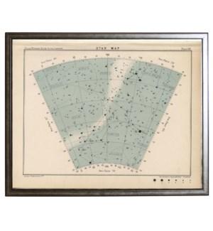 Constellation star map 66