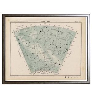 Constellation star map 68