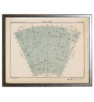 Constellation star map 69