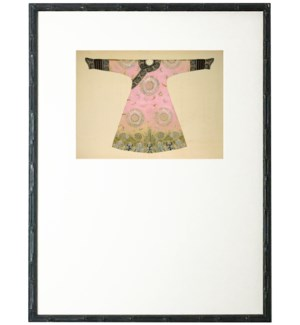 Light Pink Oriental Robe with mat