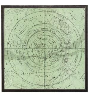 Square spa green constellation