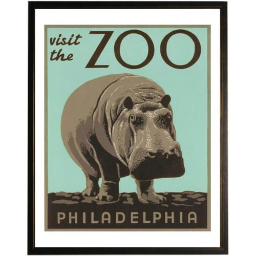 Philadelphia Zoo Poster