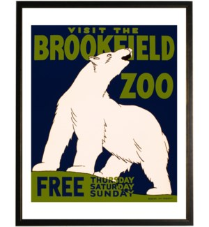 Brookfield Zoo poster