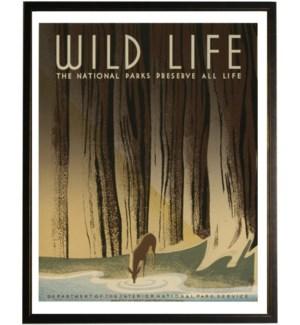 Wild Life travel poster