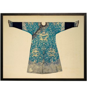 Turquoise Oriental Robe