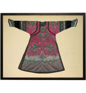 Dark Pink Oriental Robe