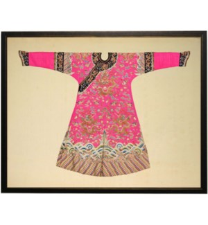 Bright Pink Oriental Robe