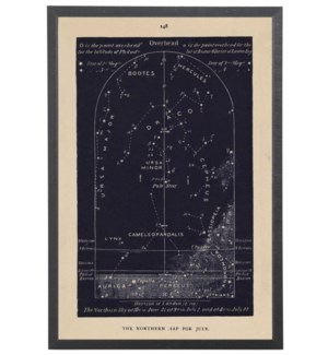 Navy Northern Star Map 148 for July