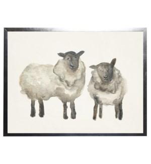 Watercolor sheep