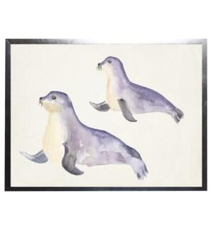 Watercolor seals