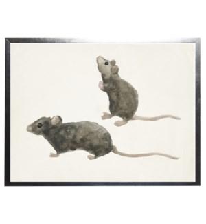 Watercolor mice