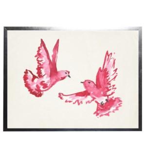 Watercolor birds