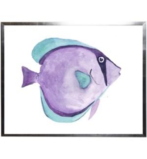 Purple and blue fish
