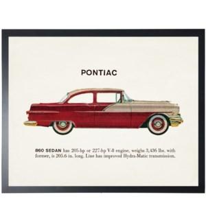 Individual Vintage Pontiac car