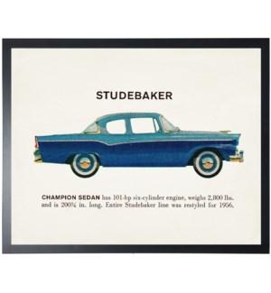 Individual Vintage Studebaker car