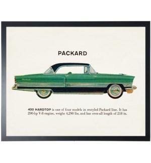 Individual Vintage Packard car