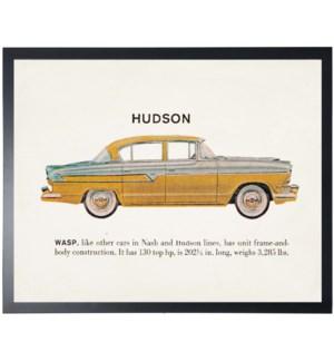 Individual Vintage Hudson car