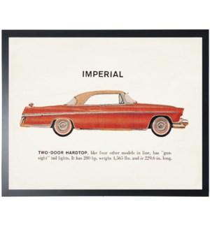 Individual Vintage Imperial car