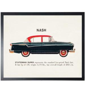 Individual Vintage Nash (black) car