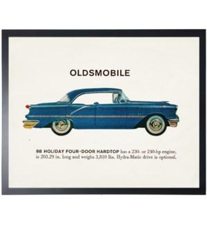 Individual Vintage Oldsmobile car