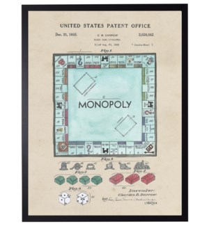 Watercolor Monopoly Patent