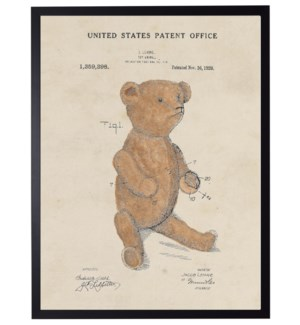 Watercolor Teddy Bear Patent