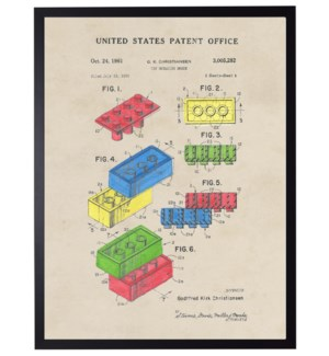 Watercolor Legos Patent