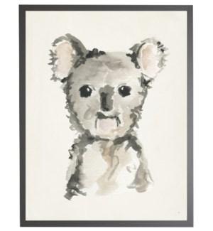 8X10 2400-55 ZU Watercolor baby koala