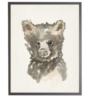 16X20 2400-55 ZU Watercolor baby bear