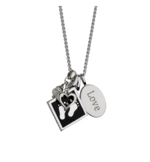 Love with Baby Feet Pendant